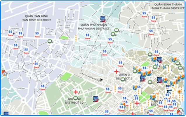 Ho Chi Minh City Attractions Map – Tourist Map Of Ho Chi Minh City